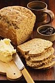 Mixed-grain bread