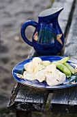 Cooked cod with potatoes (Scandinavia)