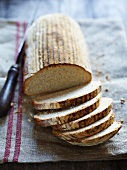 Sliced beer bread