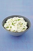 Quark with tarragon and lemon zest