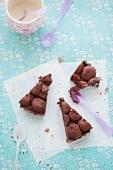 Glutenfreier Schokoladen-Tahin-Kuchen