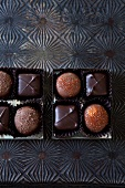 Assorted Chocolates in a Box from Stowaway Sweets in Marblehead, MA
