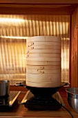 Asian Bamboo Steamer