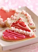 Decorated Heart Shaped Valentine's Cookie