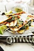 Quesadillas with spinach