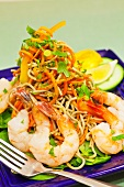Green Coconut Curry Shrimp and Soba Noodle Salad