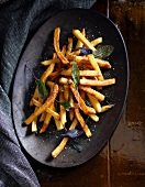 French Fries with Salt and Sage