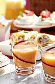 Papaya smoothies