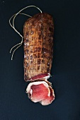 Lonzu (smoked, cured pork fillet, Corsica)