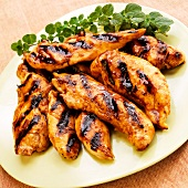Grilled Chicken with Marmalade Glaze