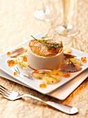 Mackerel mousse with caviar