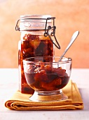 Blood orange chutney