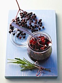 Elderberry chutney