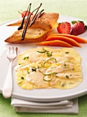 Pineapple carpaccio