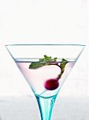 A radish in a Martini