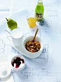 A healthy takeaway breakfast