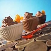 Mousse au chocolat with cumin