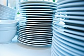A stack of crockery