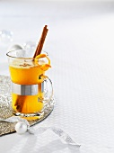 Hot buttered rum for Christmas
