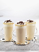 White hot chocolate for Christmas