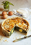 Torta pasqualina (Easter pie, Italy)