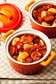 Bean stew with chorizo