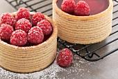 Raspberry tart
