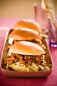 Barbecue Pork Sliders