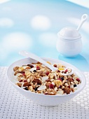 Three-berry muesli