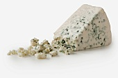 Wedge of Roquefort Cheese