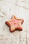 A star-shaped muffin