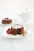 Individual Molten Chocolate Cakes
