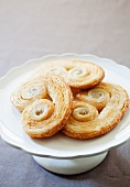 Palmiers on a Pedestal Dish