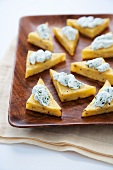 Polenta Triangle Appetizers