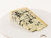 A wedge of blue cheese