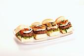 Assorted Hamburger Sliders