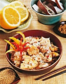 Chicken with coconut