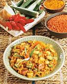 Malaysian lentil curry