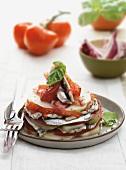 Antipasto di verdure e sarde (Gemüsetörtchen mit Sardellen)