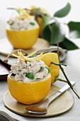 Limoni ripieni (stuffed lemons, Italy)
