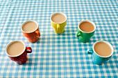 Five cups of tea