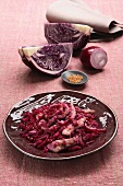 Veal with red cabbage