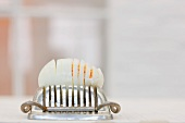 Egg and egg slicer