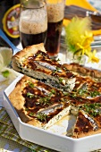 Easter pie with anchovies (Sweden)