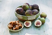 Figs, fresh and dried