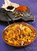 Saffron rice with spices