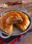 Pastilla with almonds and cinnamon (Morocco)