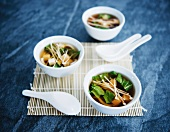 Three Bowls of Miso Soup; Spoons