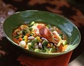 Minestrone with Parma ham