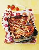 Lasagne con le melanzane (Auberginenlasagne, Italien)